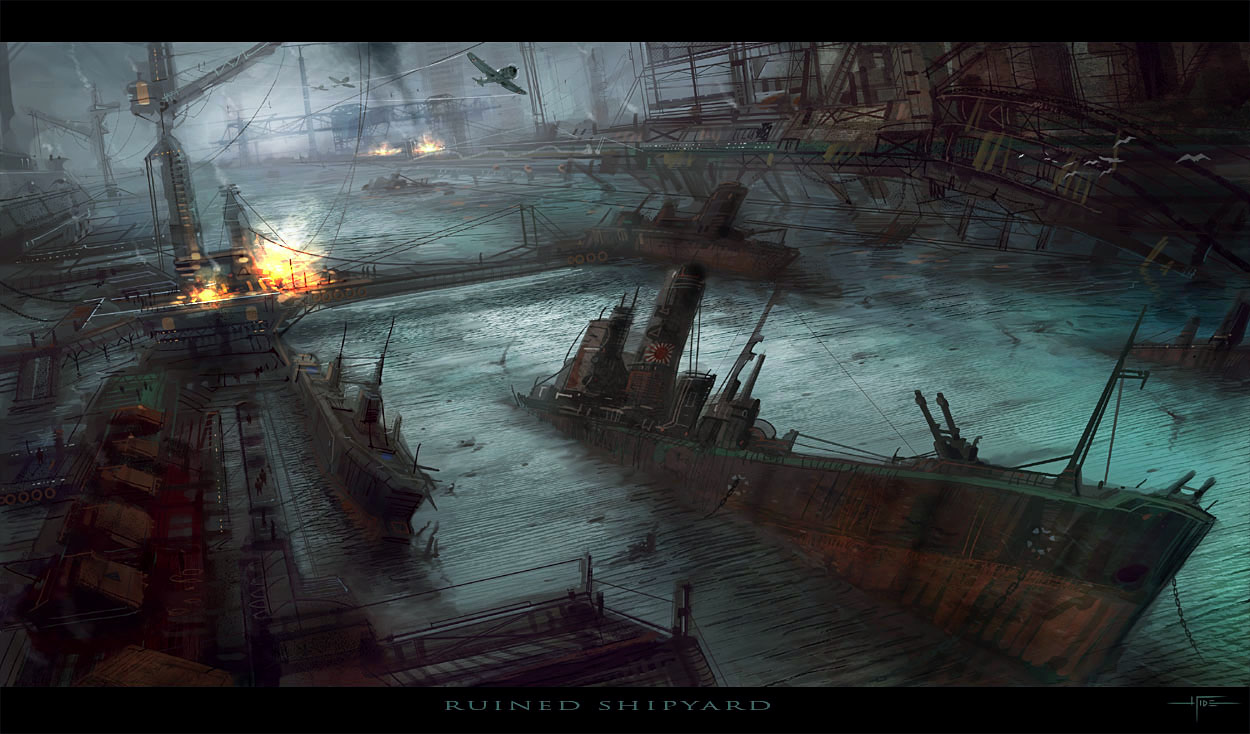 E.O.W. round 32: Ruined Shipyard - VOTING