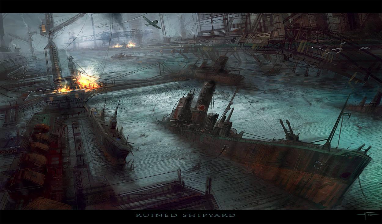 E.O.W Round 32: Ruined Shipyard