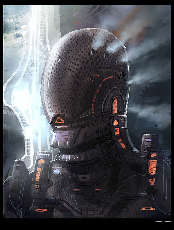 DSG 1104: Sci-Fantasy: MECHANICALLY-ENHANCED PERSON HAS ELABORATE HEAD VENTING